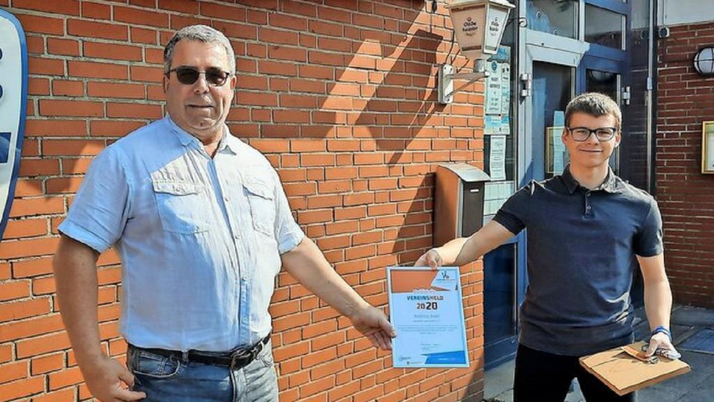 Landessportbund ehrt Garbsener Vereinshelden