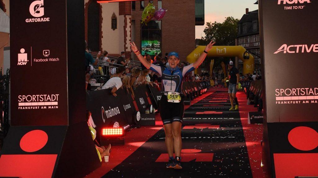 IRONMAN: Langdistanz-Triathlon in Frankfurt